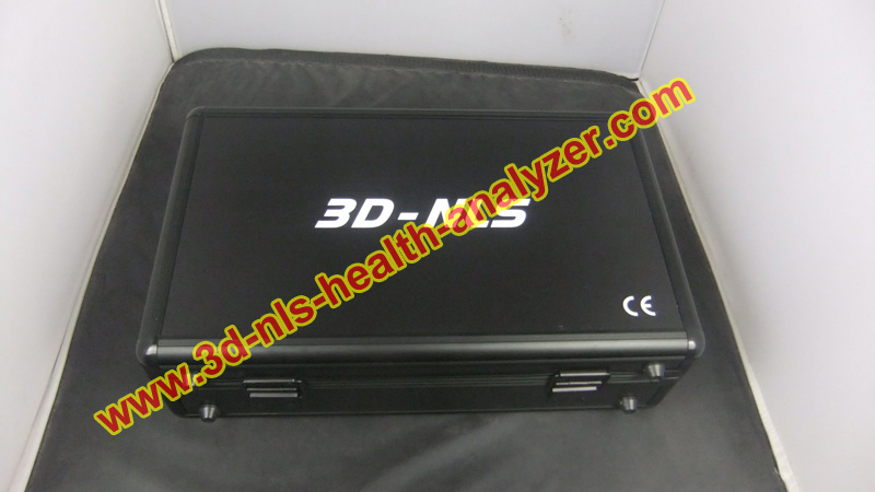 New udpated Spanish/English 3d nls non linear diagnostic system with Therapy function