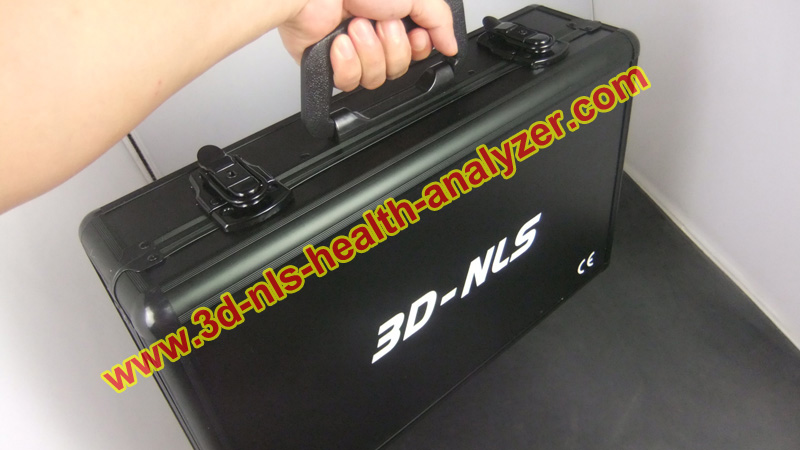 2014 Portable 3D NLS non linear diagnostic system with full body testing