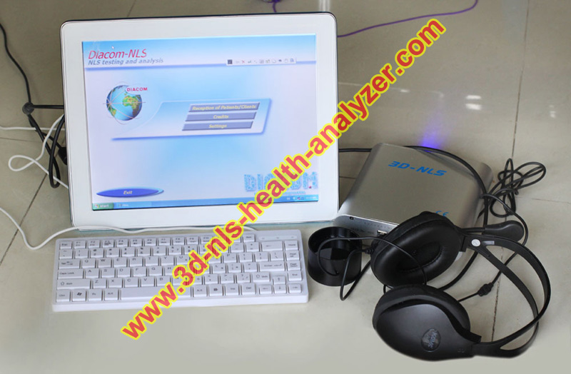2014 NEWEST Touch Screen 3D NLS Health Analyzer