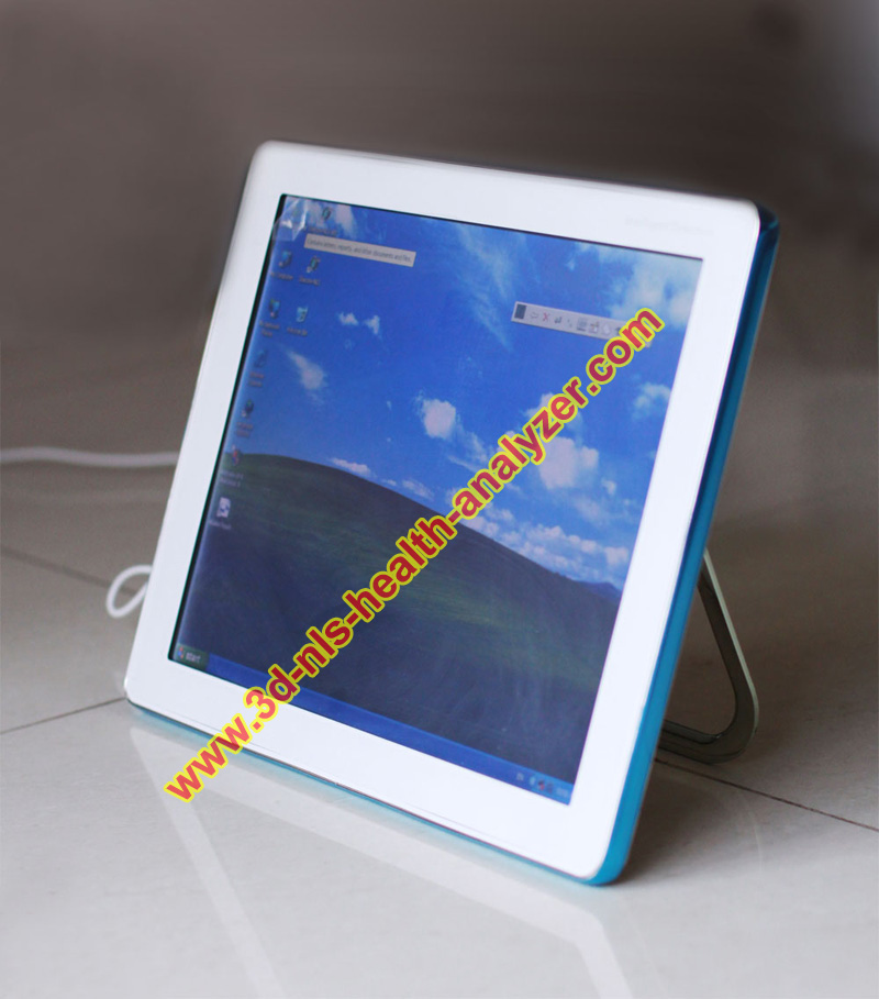 Newest Spanish 3d nls health analyzer touch screen