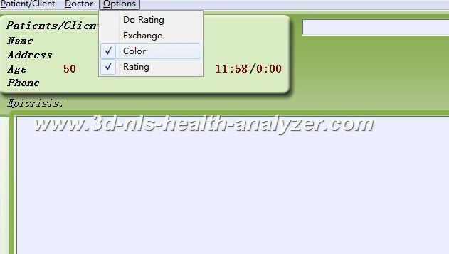 7d nls health analyzer